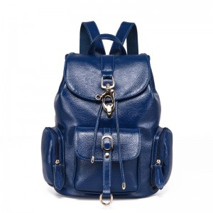 High Quality Genuine Leather Women Backpacks Shoulder Bags For Teenage Girls Preppy School Bags Thumbnail