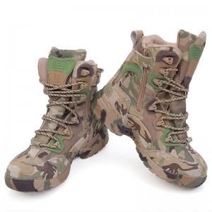 High Quality Men Military Boots Tactical Outdoor Sports Army Hiking For Men Thumbnail