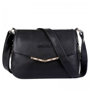 Hot Sale Women New Leather Messenger Bags Cowhide Genuine Leather Crossbody Bags For Women Thumbnail
