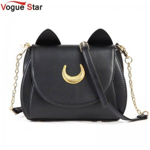Hot Summer Sailor Moon Bag Ladies Handbags Luna Moon Messenger Bags Crossbody Bags For Women Thumbnail