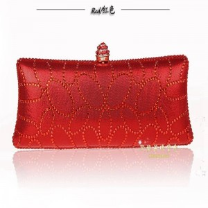 Hot Women Diamond Evening Bags Banquet Beautiful Fashion Ladies Long Section Day Prom Clutches For Women Thumbnail