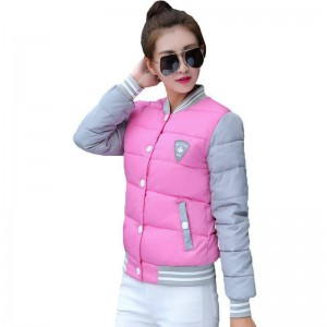 Korean Fashion Uniform Cotton New Winter Jackets For Women New Thumbnail