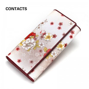 Ladies Women Wallet Genuine Leather Purse Phone Case Card Holder Coin Holder Top New Design Thumbnail