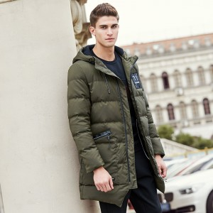 Long thicken winter down jacket men brand clothing warm duck down coat male top quality men down parkas coats for men
