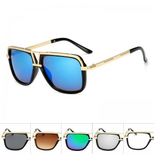 Luxury Oversized Men Top Quality Sunglasses Women Sun Glasses Square Male Retro Vintage Sunglasses For Men