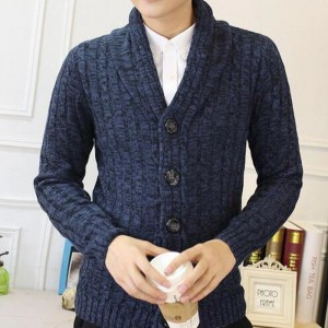 Men Stylish Sweater 2018 New V Neck Design Pure Cotton Material Single Breasted Autumn Cardigan Plus Size