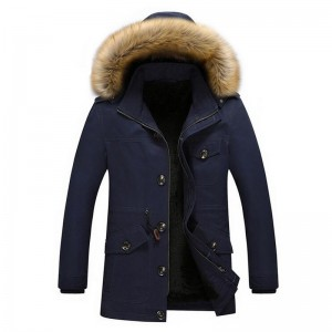 Men Winter Warm Parkas New Arrival Thickening Of Cotton Fashion Coat Multi Pockets Design Plus Size Male Outwear