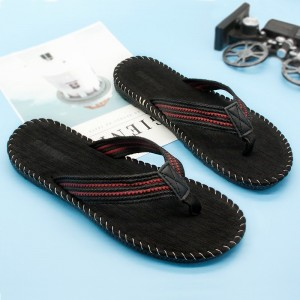 Mens Outdoor Slippers Household Casual Slippers Beach Style Sandals For Men Massage Comfortable Slippers