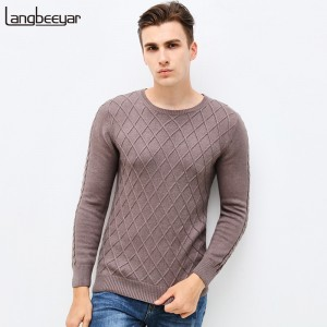 Mens Sweaters Cardigans New Autumn Winter Fashion Brand Mens Clothing High Quality Pullover Tees Knitted For Men