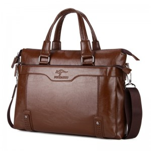 New Arrival Briefcase For Men Vintage Pure Leather Messenger Bag Handbag Shoulder Bag For Males