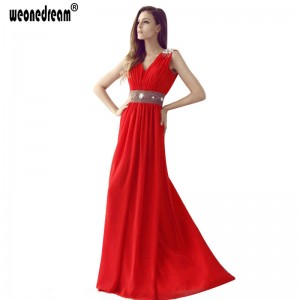 New Arrival Long Formal Evening Dress Fashion Bridesmaid Long Princess Dress For Women Elegant Design Thumbnail
