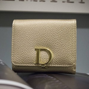 New Designer D Letter Women Wallets Luxury Ladies Small Pu Leather Purse Latest Arrival Thumbnail