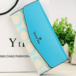 New Fashion Floral Women Wallets Floral Long Portable Wallets Change Purse High Capacity Women Thumbnail