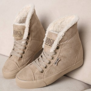 New Fashion Fur Female Ankle Boots Winter All Season Punk Style For Women Thumbnail