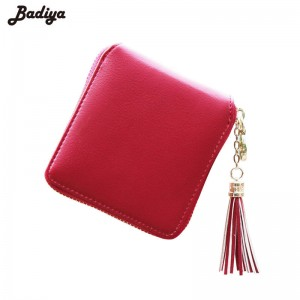 New Fashion Women Wallets Pu Leather Tassel Female Ladies Wallet Clutches Card Holder Purses Thumbnail