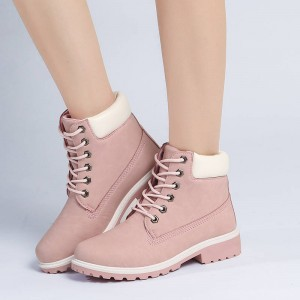 New Flat Heel Martin Boots Outsole Ankle Botas All Season New For Women Thumbnail