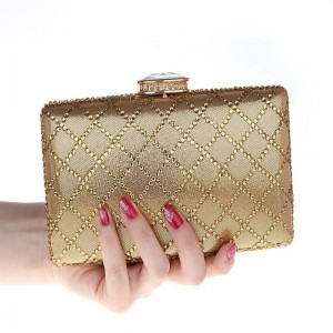 New Ladies Evening Bridal Rhinestone Wedding Luxury Diamond Day Clutch Beaded Bags Prom Clutches For Women Thumbnail