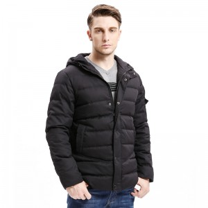 New Men Down Coat Heavy Weight Long Length Sleeve Pocket Solid Color Regular Fit Down Warm Coats Male Outwear
