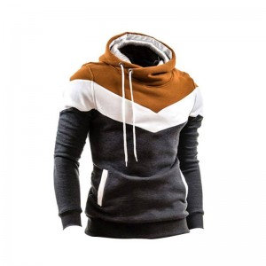 New Men Winter Slim Hoodie Warm Pullover Sweatshirt Pullover For Men Thumbnail