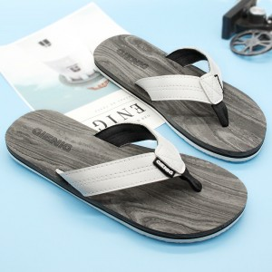 New Outdoor Slippers Simple Beach Flip Flops Comfortable Personalized Sandals For Men 2018 Collection Of Sandals