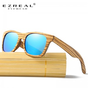 New Polarized Mens Brand Mirror Eyewear Wooden Sun Glasses Women Men Brand Wood Sunglasses Bamboo For Friends
