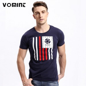 New summer Mens t shirt tops tees fitness Men Cotton tshirts Printing t shirt brand clothing Male Tops Tees