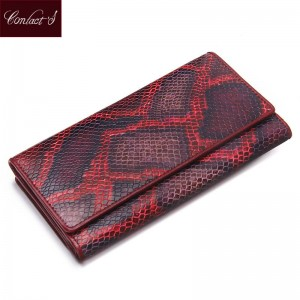 New Vintage Genuine Leather Women Wallet Long Clutch For Ladies High Quality Luxury Brand New Thumbnail