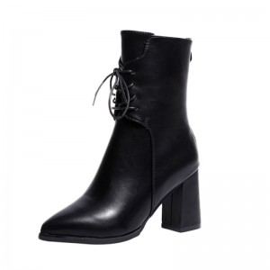 New Women Boots Leather Flat Martin Ankle Boots Womens Motorcycle Boots Autumn Shoes Women Winter leather Botas