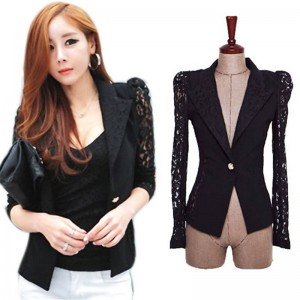 New Women Elegant Slim Suit Blazer Coat Elegant Cardigan Style New Fashion For Women Thumbnail