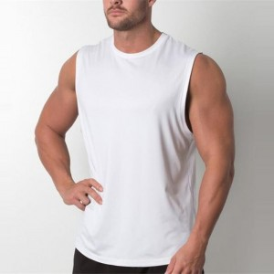 Plain Tank Top Men Bodybuilding singlet Gyms Stringer Sleeveless Shirt Blank Fitness Clothing Sportswear Muscle Vest