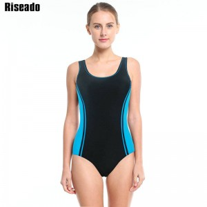 Riseado New Swimwear One Piece Swimsuit Sports Swimming Monokini Bathing Suits Summer Beach Wear For Women Thumbnail