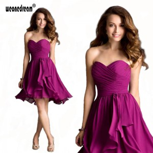 Sexy Short New Arrival Evening Dress Party Off Shoulder Dress Strapless Prom Dress Mini Formal Dress Women Thumbnail