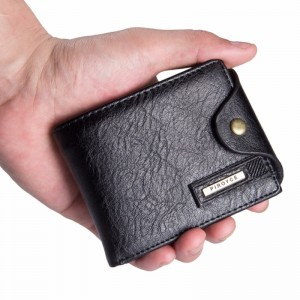 Small Multi Function Wallets And Purses For Men Coin Holder With Zipper Cute Money Bag Purse For Males