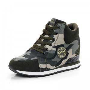 Sneakers women canvas shoes camouflage high to help increase women shoes winter casual sneaker women sport shoes