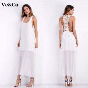 Spring Sexy Women Swimsuit Cover Ups Beach Swimsuit Cover Ups White Strapless Beach Dress Tunic For Women Thumbnail
