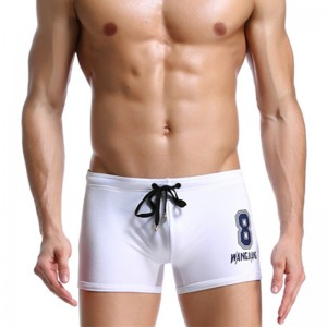 Summer Men Sexy Swimwear Briefs Swimsuits Swimming Boxer Shorts Sports Suits Surf Board Shorts Trunks Men Swim Suits