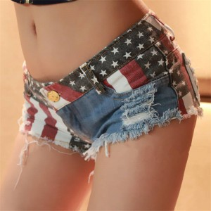 Summer New Sexy Slim Skinny Low Waist Super Mini Shorts For Women Clubwear Hot Thumbnail