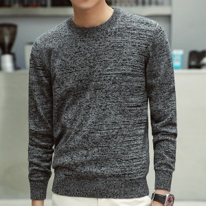 Sweaters Men New Fashion Casual O Neck Slim Cotton Knit Quality Men Sweaters And Pullovers Men Brand Clothing Plus Size