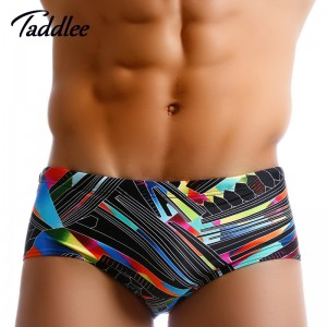 Taddlee Men Swimwear Swimsuits Swimming Briefs Bikini Brazilian Classic Cut Swim Wear Sports Surf Board Boxers