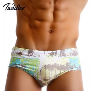 Taddlee Sexy Mens Swimwear Swimsuits Swim Brazilian Classic Cut Surfing Board Trunks Shorts Gay Low Waist