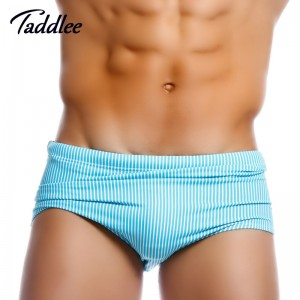 Taddlee Swimwear Man Swimming Boxers Low Waist Designed New Swimsuits Brazilian Cut Trunks