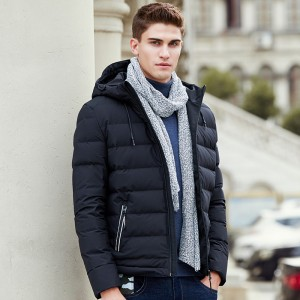 Thick down jacket men brand clothing winter down coat male top quality fashion casual warm down parkas for men