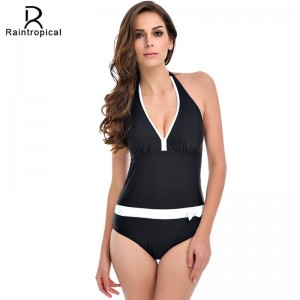 Vintage Bathing Suits Halter Top Sexy Monokini Beach Bathing Suits Customized Plus Sized Women Swimsuits