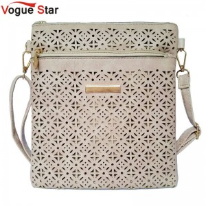 Vogue Star New Fashion Small Shoulder Bags Vintage Hollow Out Messenger Bags Pu Leather Bags Women Thumbnail