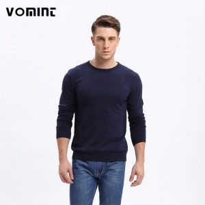 Vomint Men Solid Sweater Thin O Neck Casual Long Sleeve Knitted Male Autumn New Class Design Male Cardigans