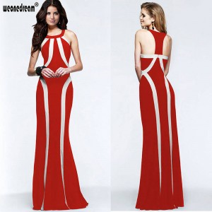Weonedream Dress Sexy Women Maxi Dress Halter Slim Elegant Evening Long Dress Prom Dress For Women Thumbnail