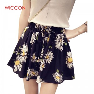 Spring Summer New Style Bow Tie Skirts High Waist Elastic Sexy Mini Skirt For Women