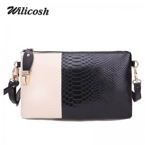Wilicosh Candy Color Women Clutch Split Bag Leather Messenger Bags Female New Designer Top Quality Clutch Thumbnail