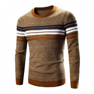 Winter Pullover Men Sweater Sweatshirt Good Quality Long Sleeve Casual Wool Thumbnail