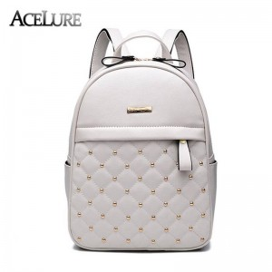 Women Backpacks Hot Sale New Arrival Shoulder School Backpacks Pu Leather Bags For Girls New Thumbnail